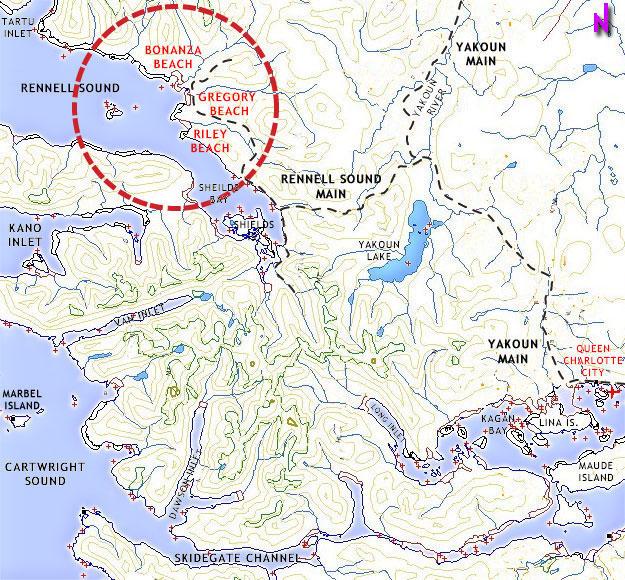 WEST COAST HAIDA GWAII QUEEN CHARLOTTE ISLANDS' REGIONAL TRAILS on